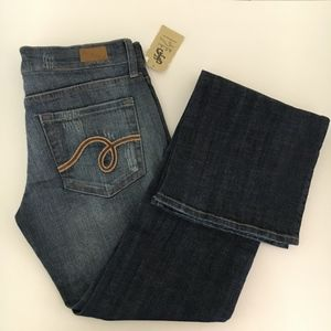 See Thru Soul Jeans distressed New size 26
